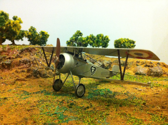 1/32 Academy Nieuport 17 second view