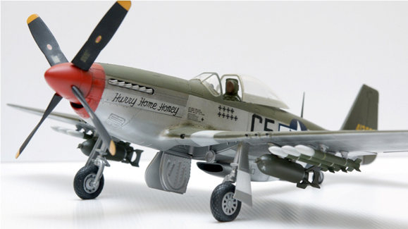 1/32 Mustang from DML, Hurry Home Honey