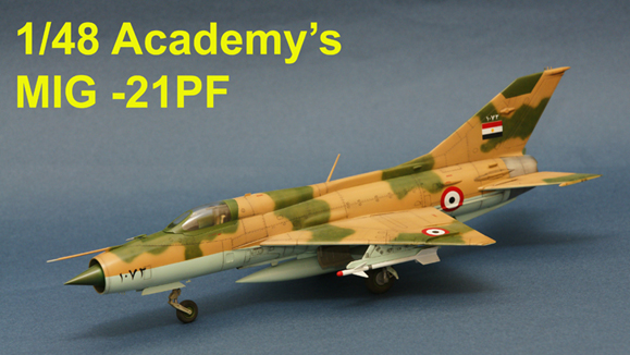 1/48 MIG-21 from Academy