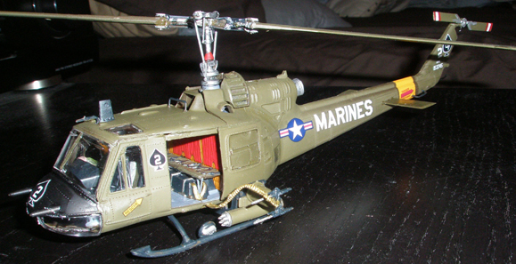 1/48 Bell UH-1 Huey Hog from Revell