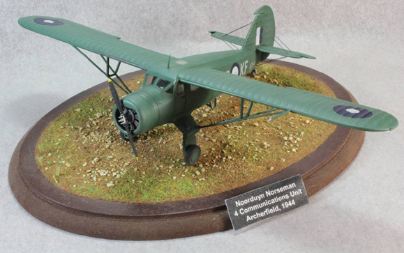 1/72 Matchbox Norseman RAAF Archerfield