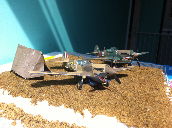 1/72 P-40 kitty hawk and curtis hawk