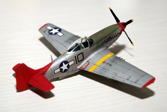 1/72 P-51D Academy Tuskegee