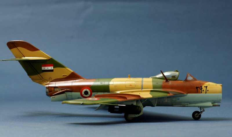 HobbyBoss MIG-17 of the Syrian Air Force