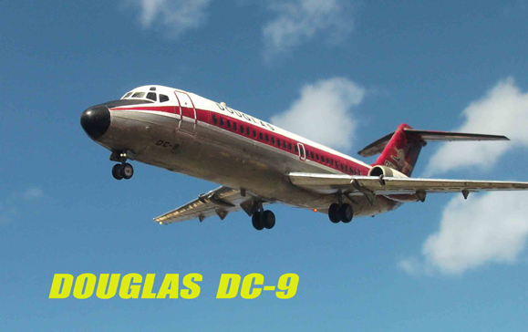 Revell kit of Douglas DC-9
